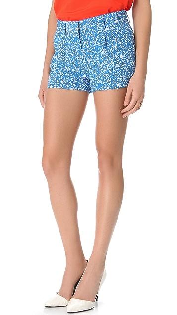 Diane von Furstenberg Naples Printed Shorts