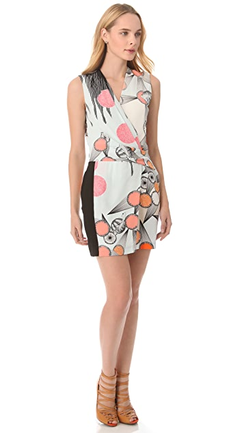 Diane von Furstenberg Jaime Printed Dress