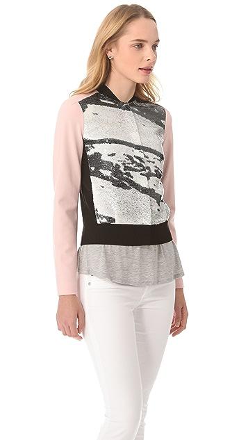 Diane von Furstenberg Anniemae Sequin Jacket