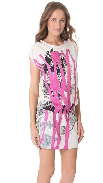 Diane von Furstenberg Tara Candy Branch Dress