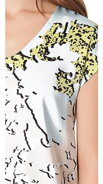 Diane von Furstenberg Acedia Printed Tee