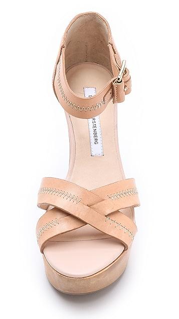 Diane von Furstenberg Alara Wedge Sandals