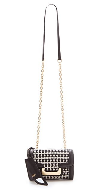 Diane von Furstenberg New Harper Charlie Wool Bag