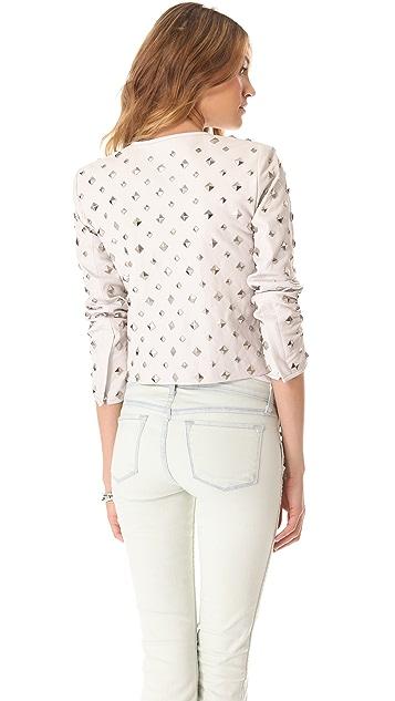 Diane von Furstenberg Kate Studded Jacket
