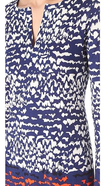 Diane von Furstenberg Reina Dress with Long Sleeves