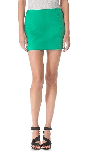 Diane von Furstenberg Jay Suede Skirt