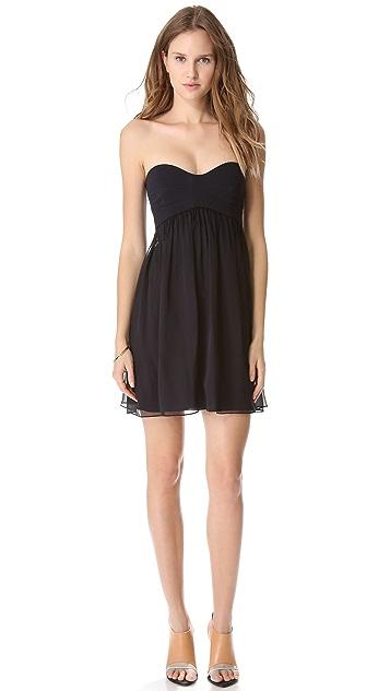 Diane von Furstenberg Asti Strapless Dress