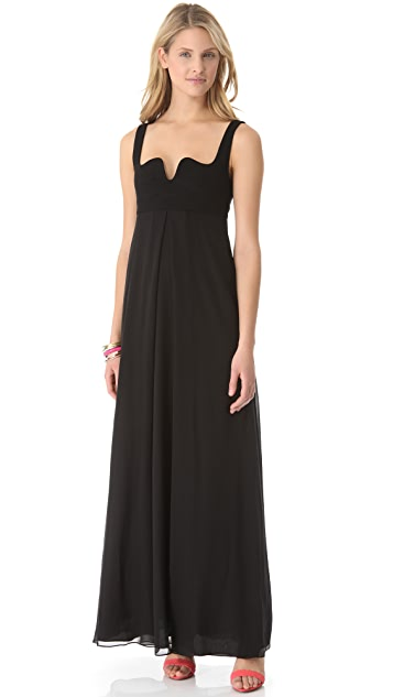Diane von Furstenberg Asti Two Long Dress
