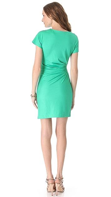 Diane von Furstenberg Melek Ruched Side Dress