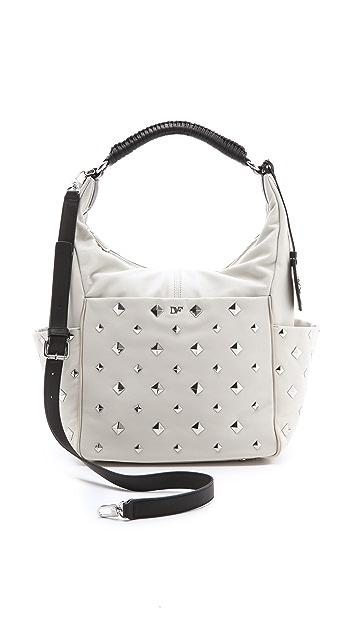 Diane von Furstenberg Franco Pyramid Studded Bag