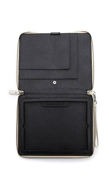 Diane von Furstenberg Metallic Canvas iPad Case