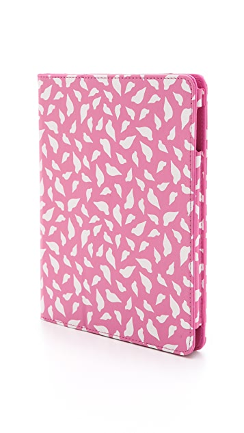 Diane von Furstenberg Printed Lips iPad Book Cover