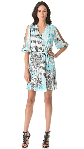 Diane von Furstenberg Autumn Split Sleeve Dress