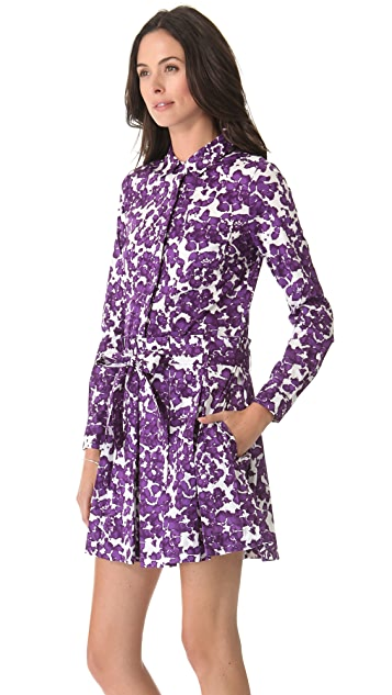 Diane von Furstenberg Montana Shirt Dress