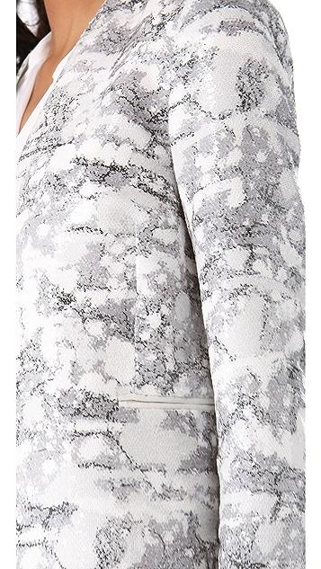 Diane von Furstenberg Paulette Sequined Blazer
