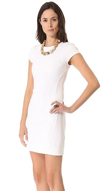 Diane von Furstenberg Pele Eyelet Dress