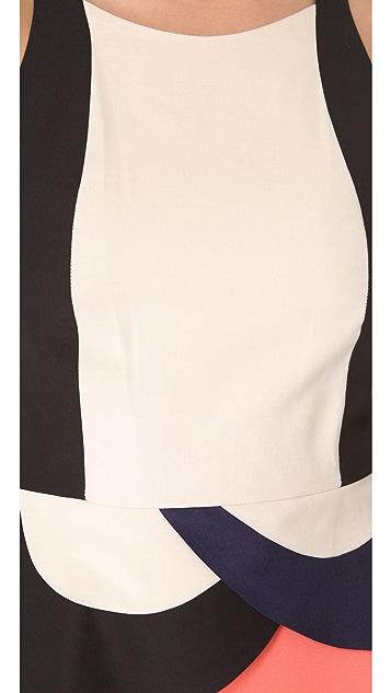 Diane von Furstenberg Eon Peplum Dress
