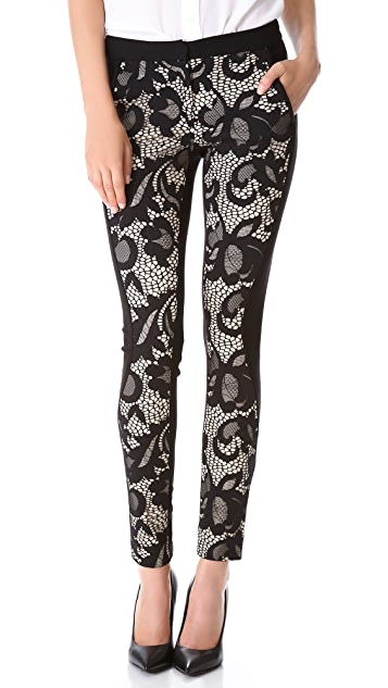 Diane von Furstenberg Harmony Floral Lace Pants
