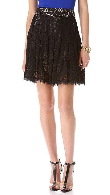 Diane von Furstenberg Kiernan Lace Skirt
