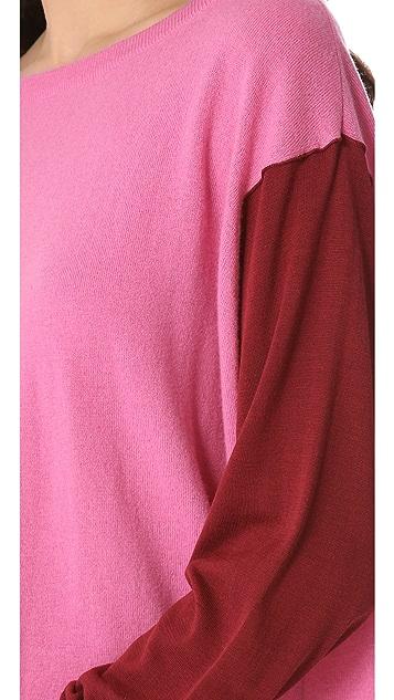 Diane von Furstenberg Dana Colorblock Pullover