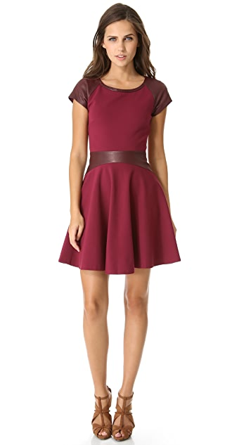 Diane von Furstenberg Delyse Combo Dress