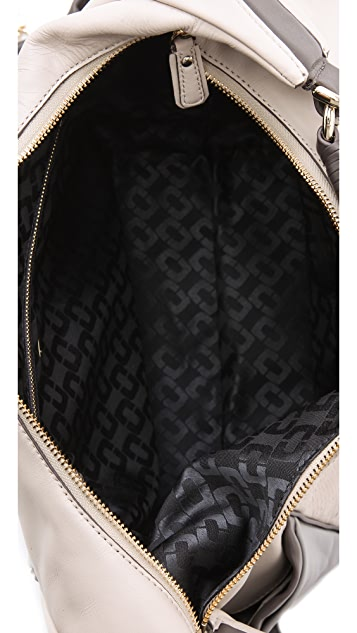 Diane von Furstenberg Franco Snake Embossed Bag