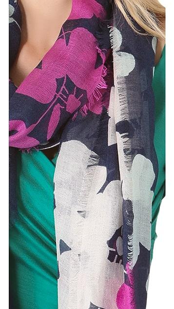 Diane von Furstenberg Cashmere Silk Scarf