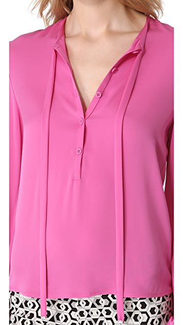 Diane von Furstenberg Whitman Top