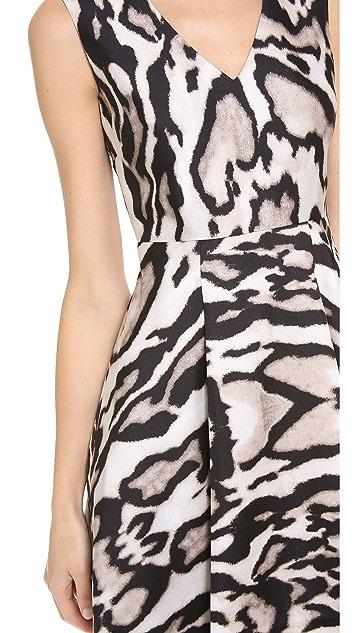 Diane von Furstenberg Renna Printed Dress