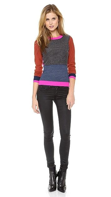Diane von Furstenberg Fairlee Texture Sweater