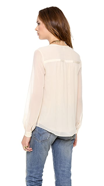Diane von Furstenberg Lane Solid Top
