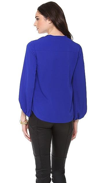 Diane von Furstenberg Tanyana Billow Sleeve Tunic