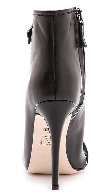 Diane von Furstenberg Radcliff Lace Up Booties