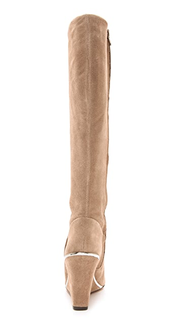 Diane von Furstenberg Paula Wedge Boots