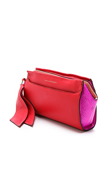 Diane von Furstenberg Zip-And-Go Clutch