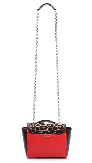 Diane von Furstenberg Mini Leopard Satchel