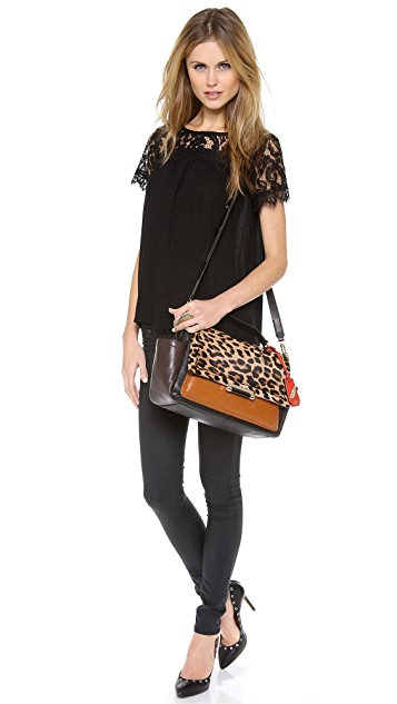 Diane von Furstenberg Highline Courier Bag