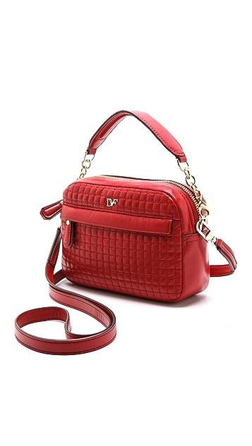 Diane von Furstenberg Milo Quilted Leather Mini Bag