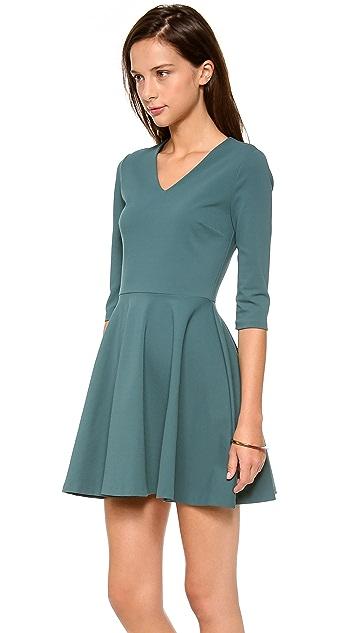 Diane von Furstenberg Jeannie V Neck Dress
