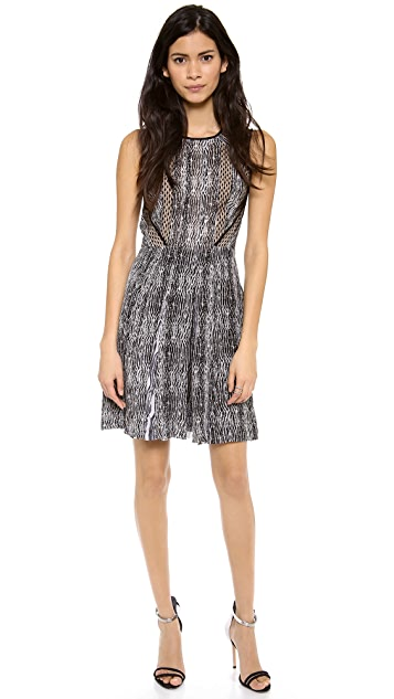 Diane von Furstenberg Ida Lace Combo Dress