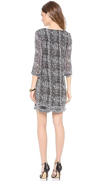 Diane von Furstenberg Lexie 3/4 Sleeve Tunic Dress