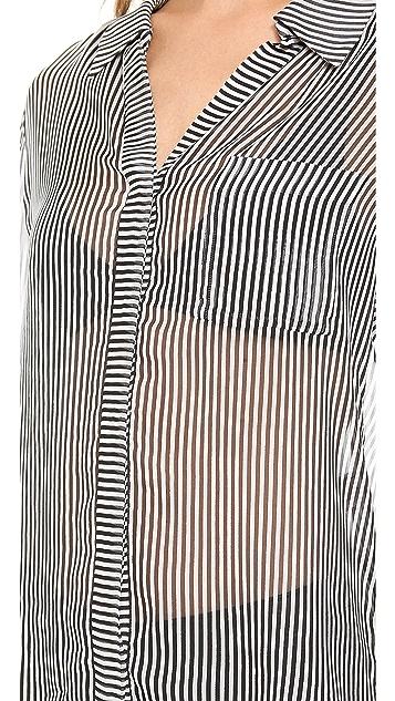 Diane von Furstenberg Lorelei Print Blouse
