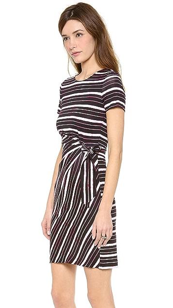 Diane von Furstenberg Brie Cap Sleeve Dress