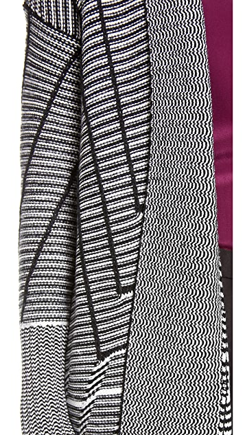 Diane von Furstenberg Monique Wrap Sweater