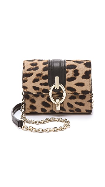 Diane von Furstenberg Sutra Haircalf Micro Mini Bag