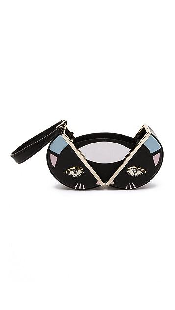 Diane von Furstenberg Cat Round Fetish Bag