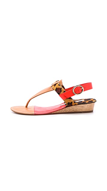 Diane von Furstenberg Darling Demi Wedge Sandals