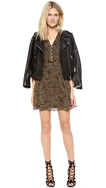 Diane von Furstenberg Zaeta Printed Sleeveless Dress