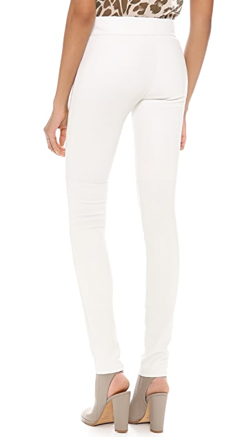 Diane von Furstenberg Kristen Leather Pants
