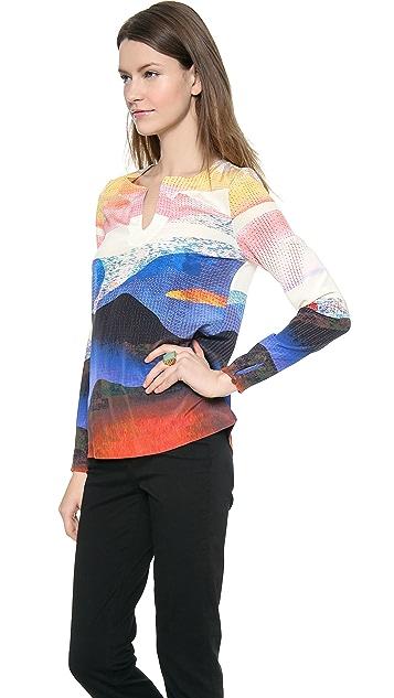 Diane von Furstenberg Jaden Tunic Top